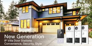 New Generation of IP Villa Door Stations