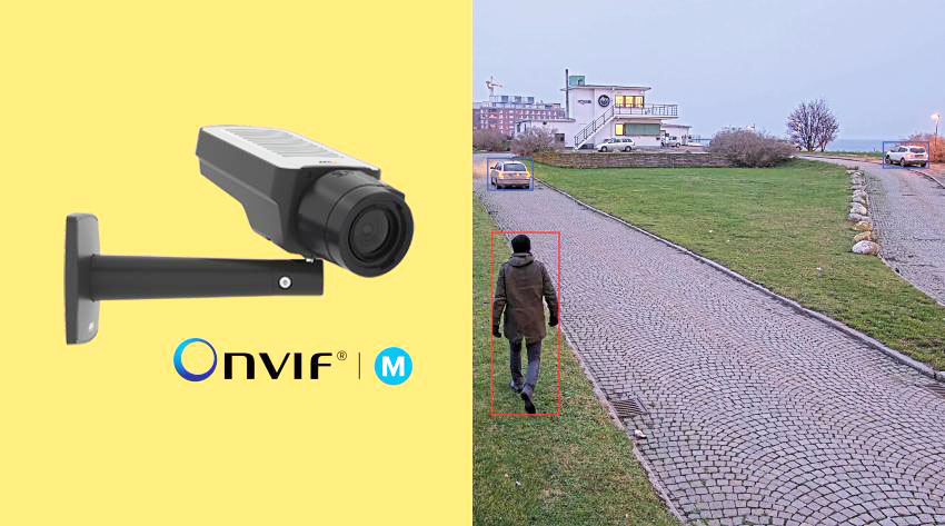 Axis Products Conform to ONVIF Profile M for Easier Integration of Metadata